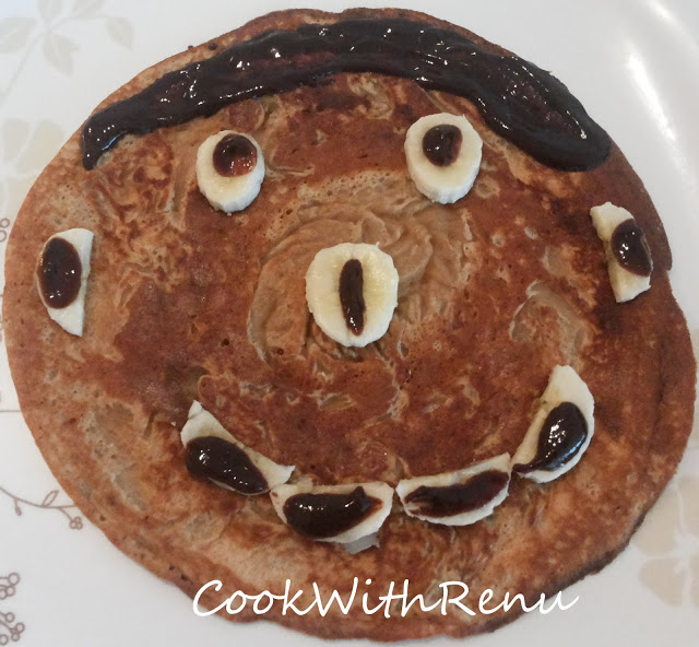 Whole wheat Banana PanCake