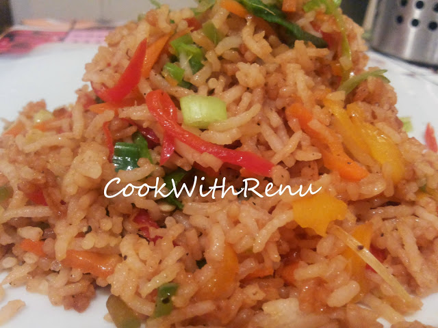 Veg Fried Rice (Without Ajinomoto)