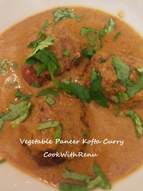 Vegetable Paneer Kofta Curry