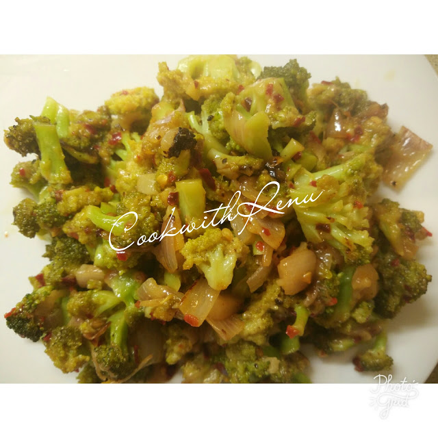 Broccoli Cheese Stir Fry