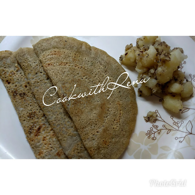 Buckwheat(Kuttu) Groat(Grain) PanCake