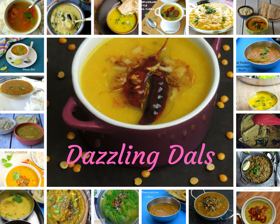 Dazzling Dals – Roundup of Delicious Dals