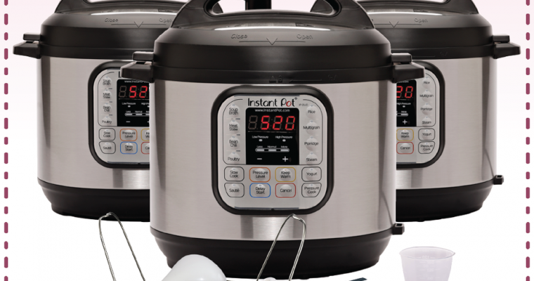 YOU COULD WIN A INSTANT POT DUO! #GIVEAWAY