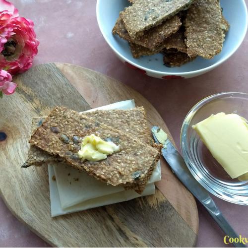 Knäckebröd - Swedish Multi-Seed Crispbread