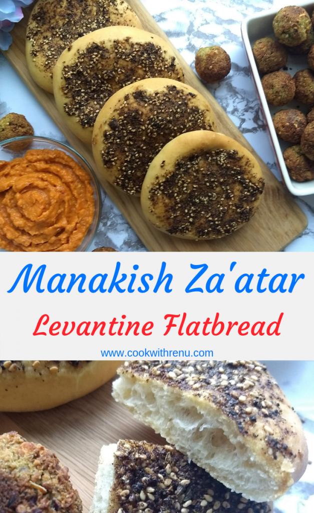 Manakish Za'atar