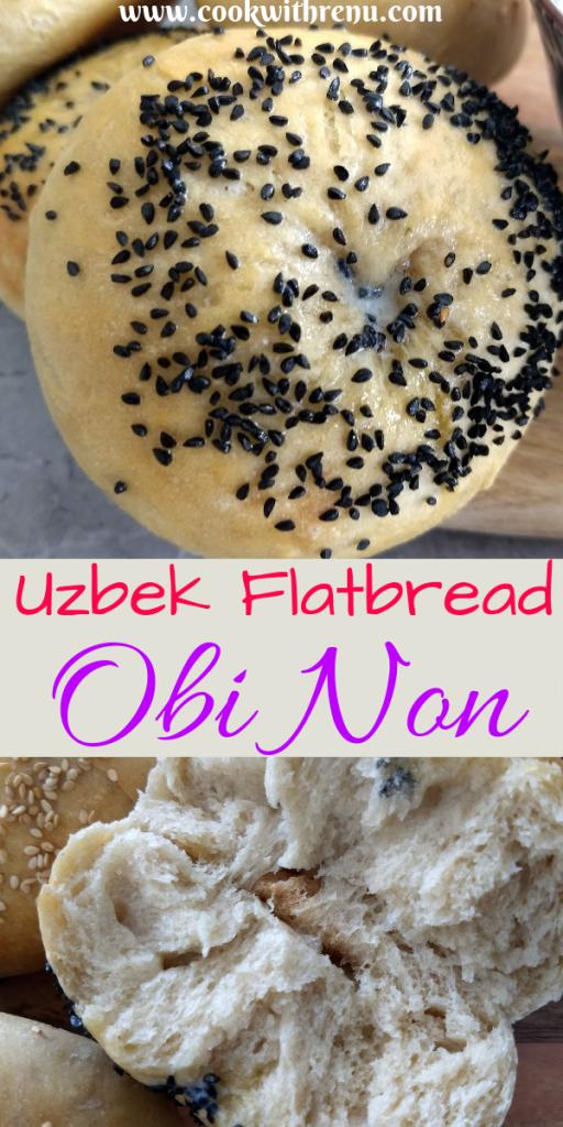 Uzbek Flatbread - Obi Non