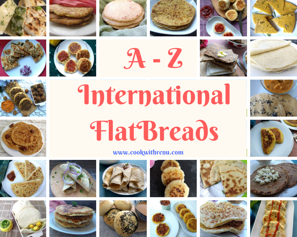 Compilation of A-Z International Flatbreads