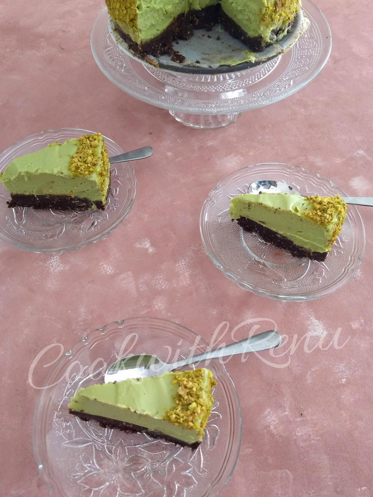 Vegan Avocado Cheesecake