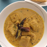 Chakki ki Sabji | Ate ki Sabji (Tangy and spicy gravy with Whole wheat flour Dumplings)