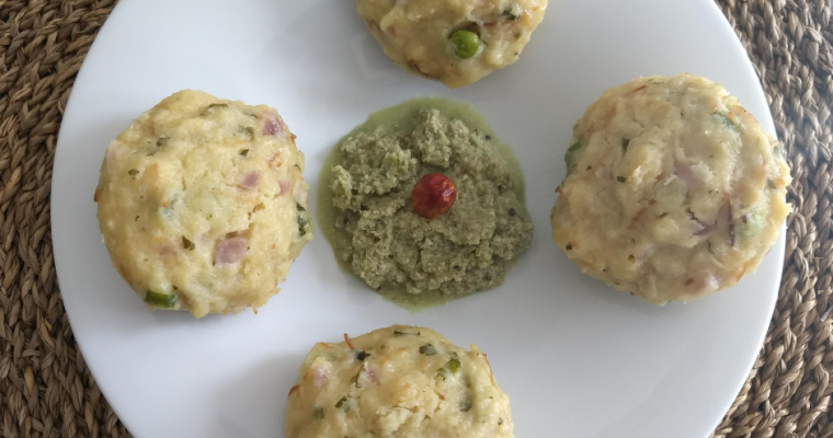 Semolina and Vermicelli Instant Idli (Steamed Cakes) ~ Rava & Sevai Instant Idli