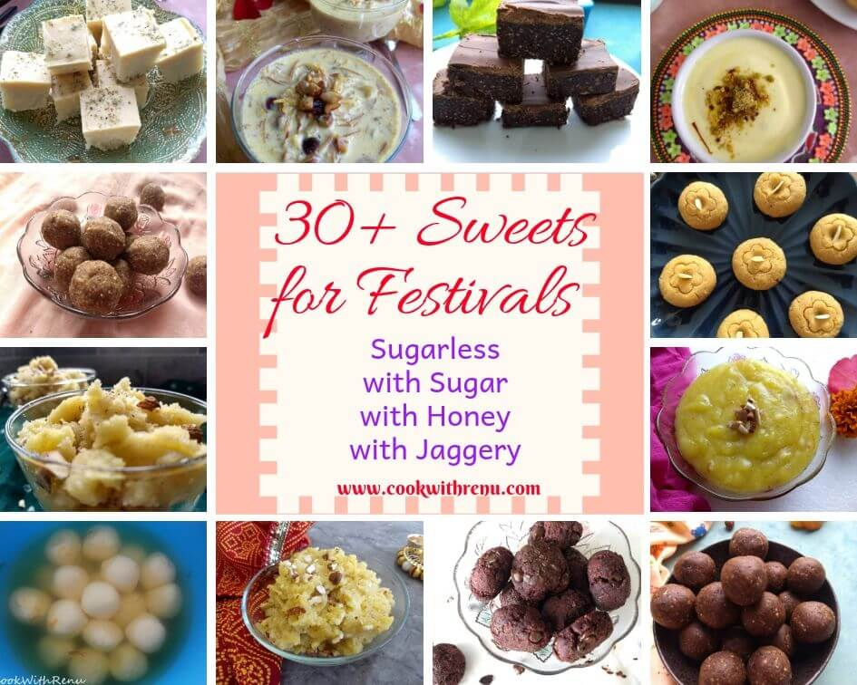 Eggless Sweets for any festive occasions