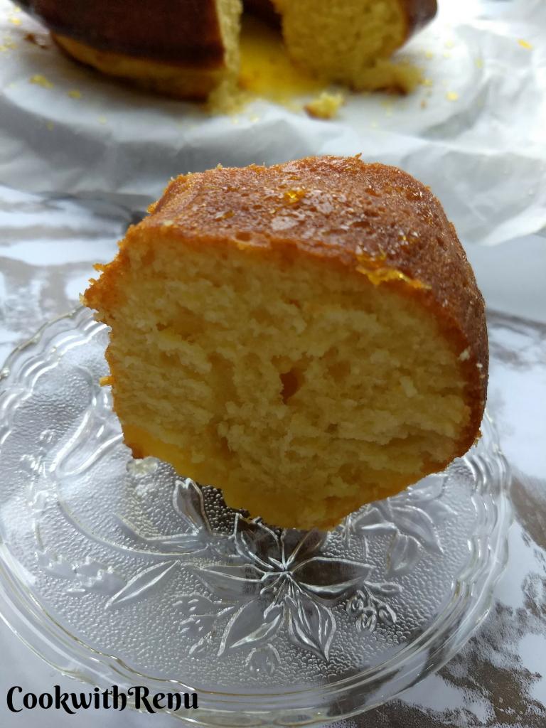 Orange Yeast Cake