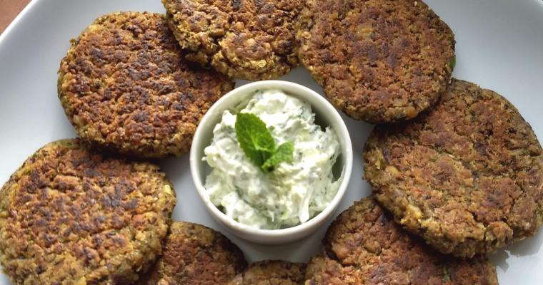 Red Kidney Beans and Black Chickpeas Kabab | Rajma and Kala Chana Pattice (Tikki)