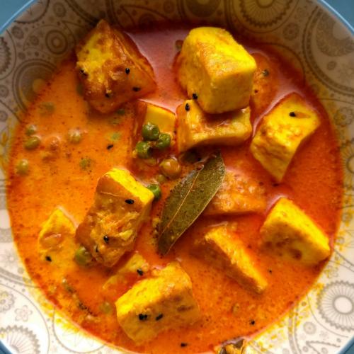 Sana Thongba|Manipuri Paneer curry