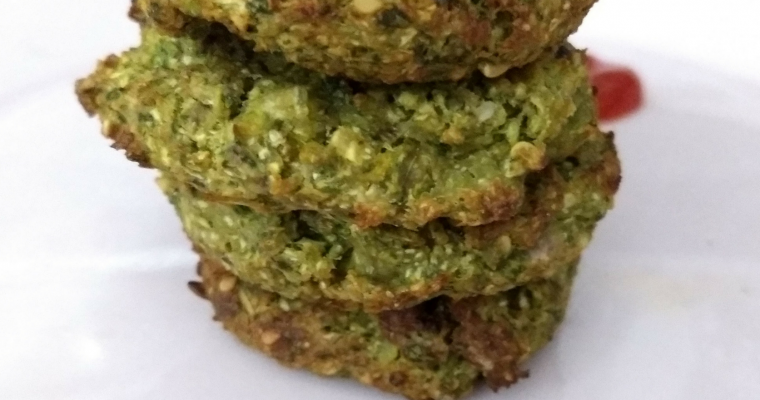 Vegan Baked Oats and Vegetable Bites