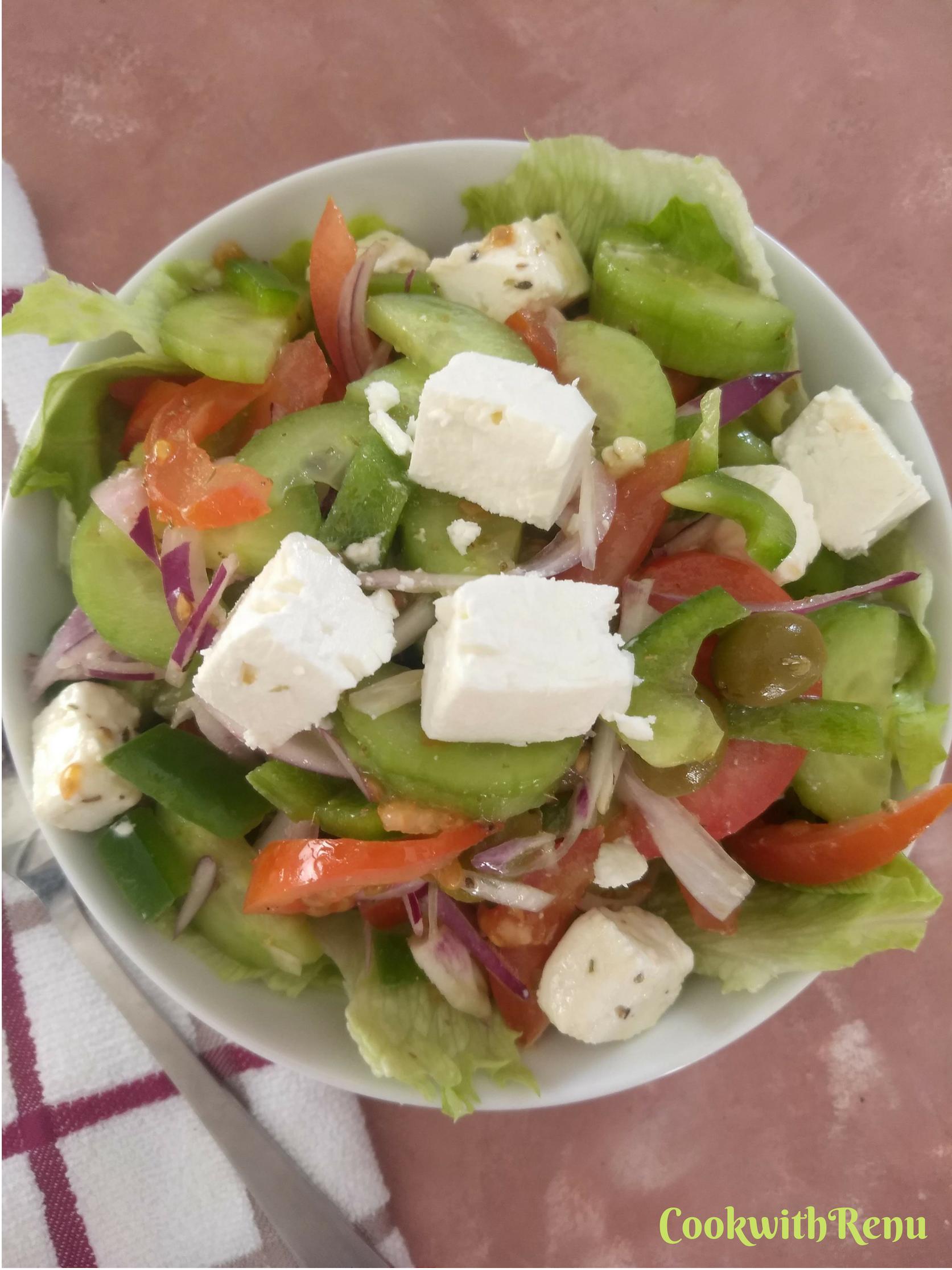Greek Salad (Horiatiki / Xoriatiki)