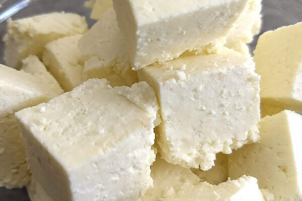 Home made Paneer (Indian Cottage Cheese)