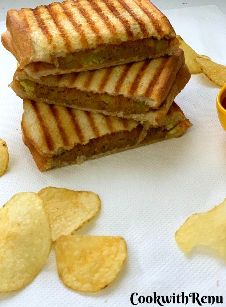 Potato Toasted Sandwich