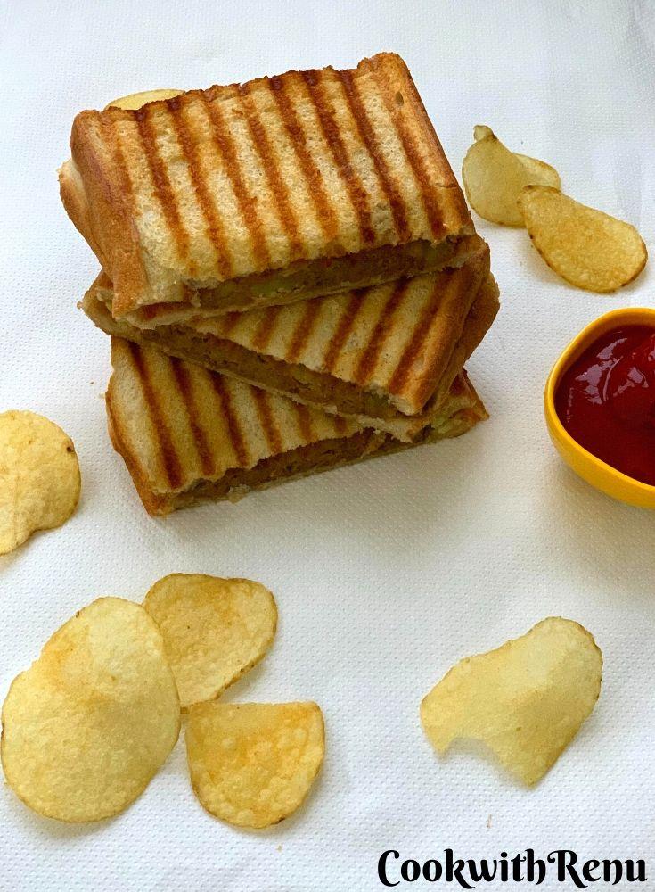 Aloo Toasted Sandwich