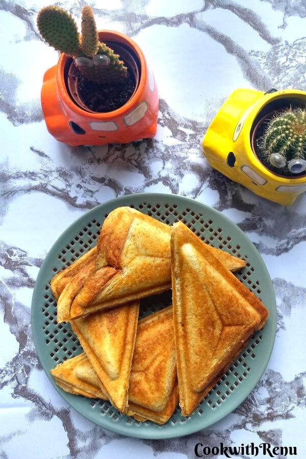 Aloo Toast Sandwich | Potato Toast Sandwich
