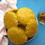 Meethi Puri (Poori) | Fresh Fenugreek leaves Puri