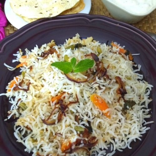 Awadhi Vegetable Biryani Cook With Renu
