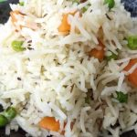 Carrot and Peas Pulao