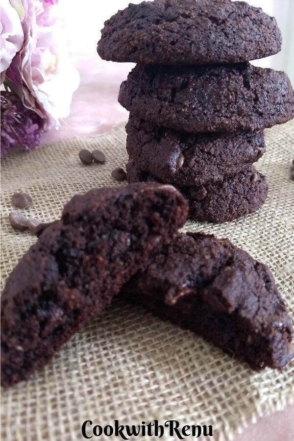 Chocolate Coconut Flour Cookies (Gluten Free)