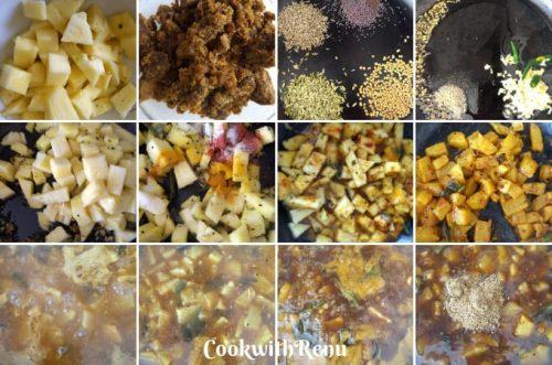Odia's Sapuri khatta   Pineapple Sweet & Sour Chutney
