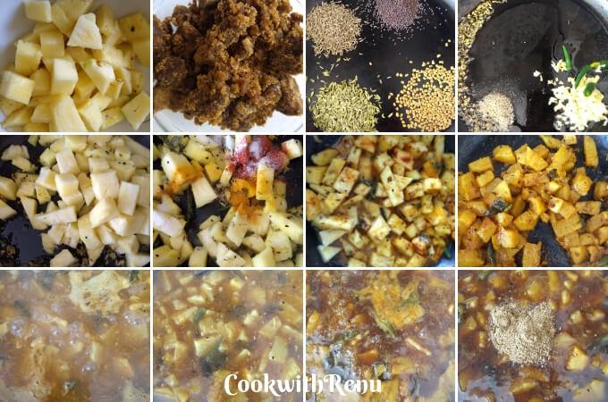 Odia's Sapuri khatta | Pineapple Sweet & Sour Chutney