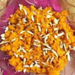 No Ghee No Mawa Gajar Halwa is a delicious and traditional Indian Dessert or a pudding made using fresh carrots slowly cooked in milk, without ghee or mawa.