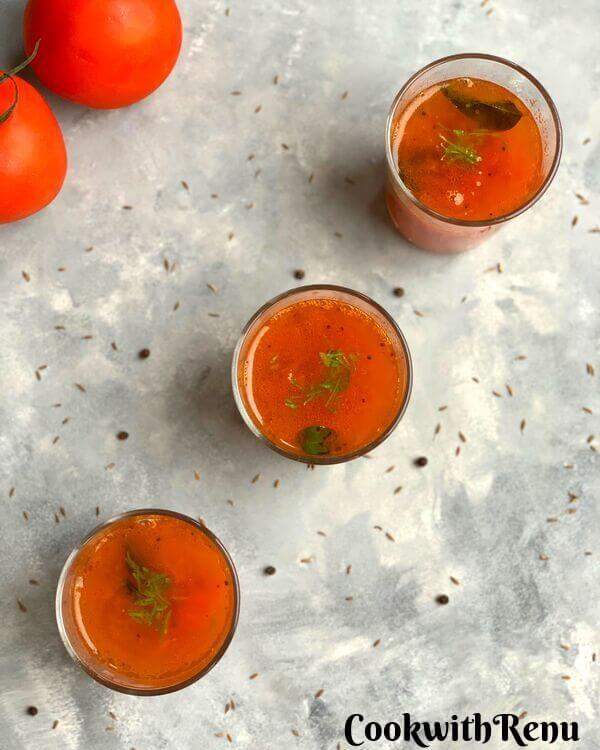 nstant Thakkali Rasam | Instant Tomato Rasam
