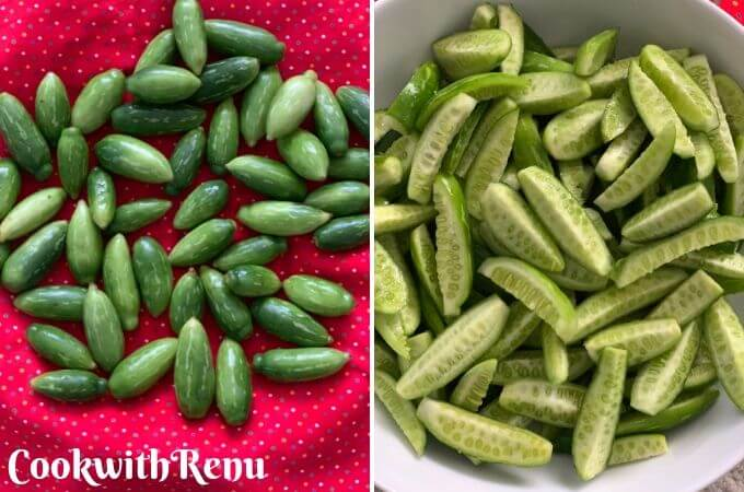 Tondly | Ivy Gourd before and After Cut