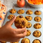 Whole Wheat Butternut Squash and Apple Muffins are deliciously light, moist and loaded with the goodness of oats and fruits.