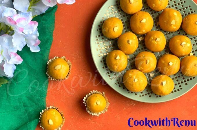 Besan Ladoo (Indian festive Sweet )