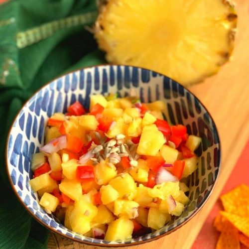 Mediterranean Fresh Pineapple Salsa