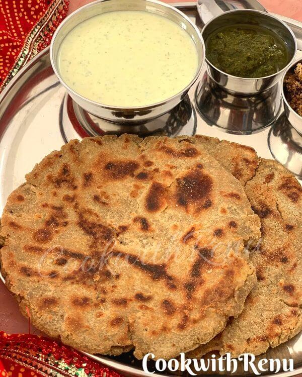Stuffed Bajra Paratha
