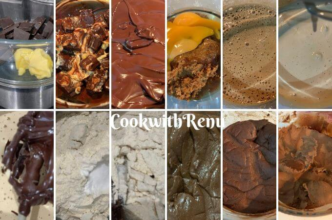 Step by Step process of making the Cookies