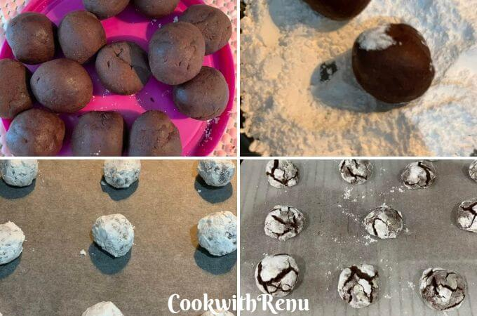 Shaping and Baking the Cookies