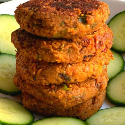 Horse Gram and Sweet Potato Patties