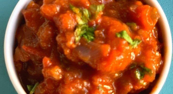 Tripura Tomato Chutney – Mosdeng Serma