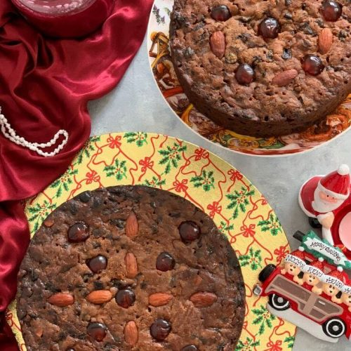 Whole Wheat Classic Christmas Cake