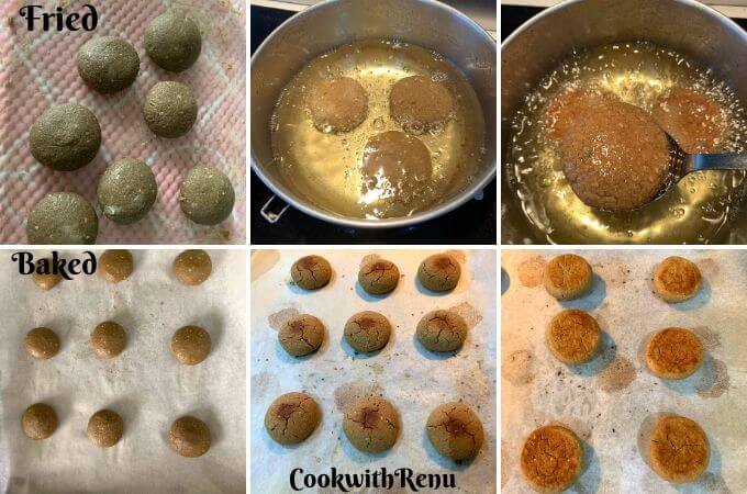 Making of Tikkis/Cookies