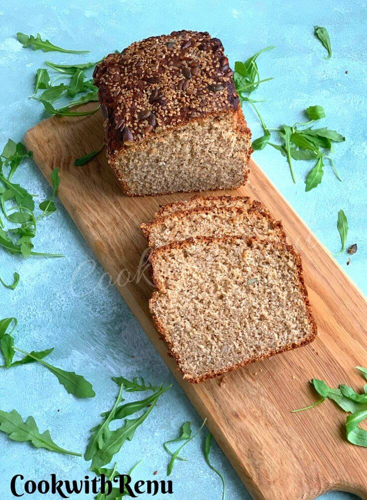 Sprouted Wheat Flour No Knead Bread