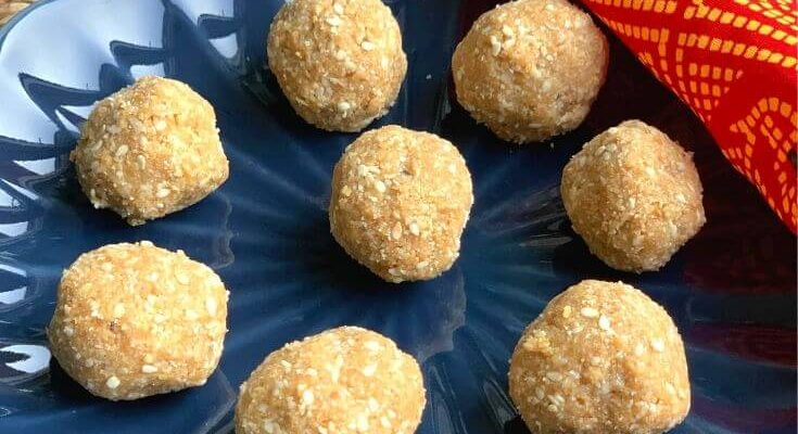 Til Gul Ladoo without Jaggery Syrup | Sesame Seeds and Jaggery Ladoo