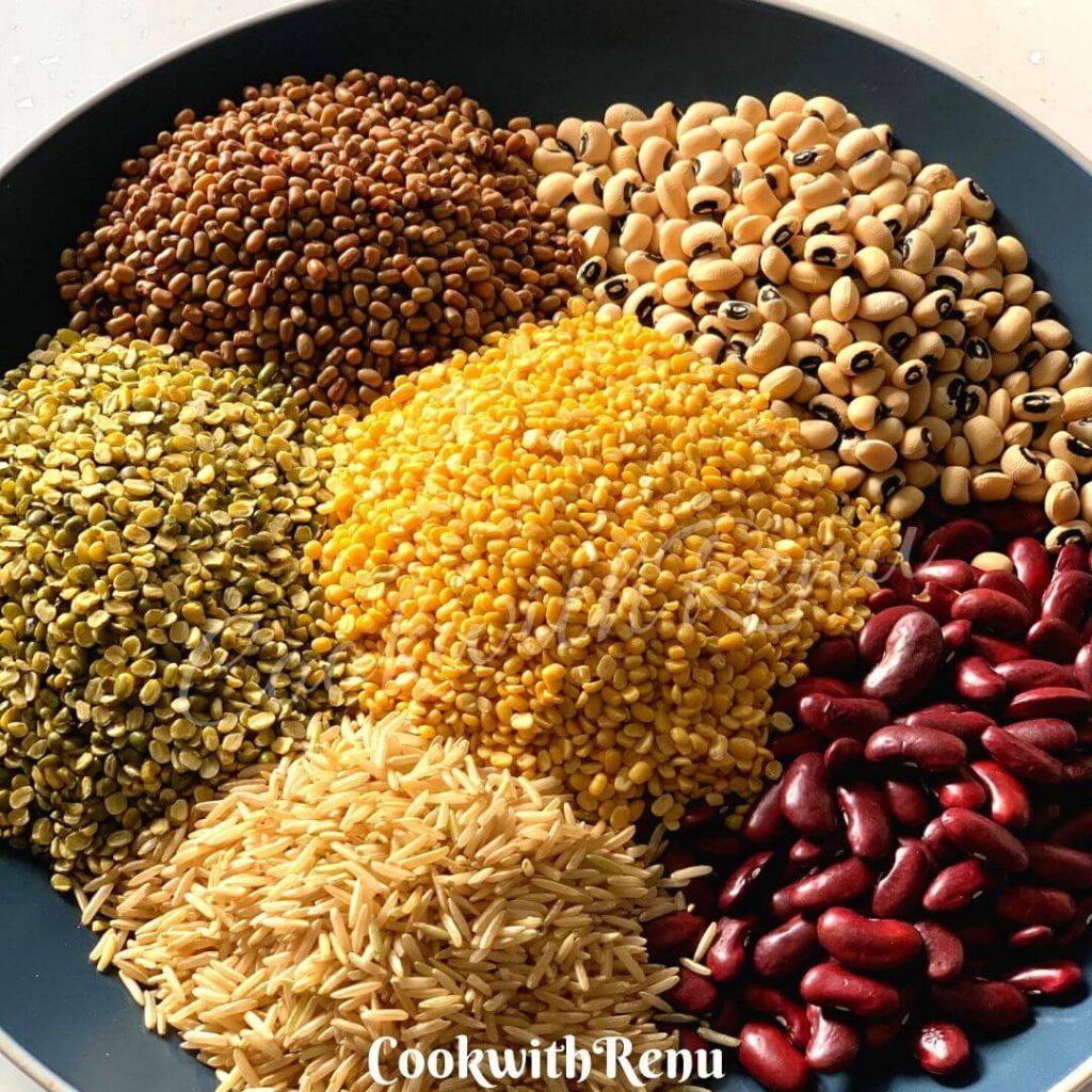Image of Dals, Lentils, Beans, Rice etc.