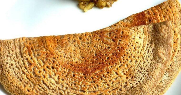Buckwheat Groats Pancake | Farali Kuttu ka Cheela