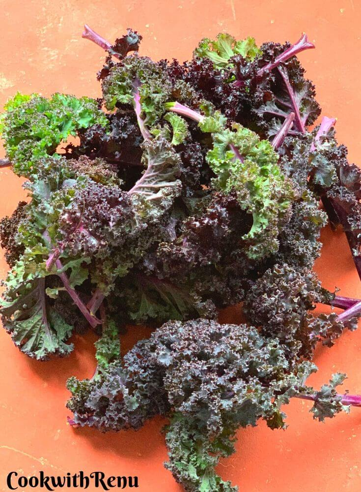 Purple Russian Kale