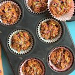 Cornflakes Cakes Arranged in a muffin tray