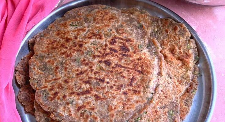 Farali Singhara Paratha (Gluten Free)